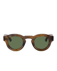 olivgrüne Sonnenbrille von Thierry Lasry