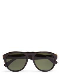 olivgrüne Sonnenbrille von Tod's