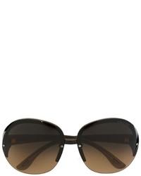 olivgrüne Sonnenbrille von Tom Ford