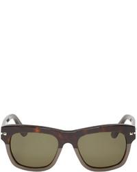 olivgrüne Sonnenbrille von Valentino
