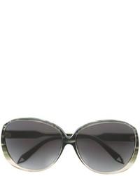 olivgrüne Sonnenbrille von Victoria Beckham