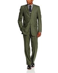 olivgrüner Anzug