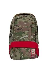 olivgrüner Camouflage Rucksack