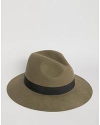 olivgrüner Hut von Asos