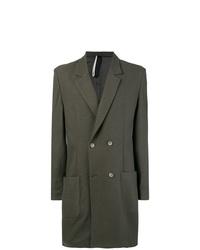 olivgrüner Mantel von Low Brand
