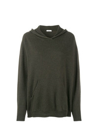 olivgrüner Oversize Pullover von P.A.R.O.S.H.
