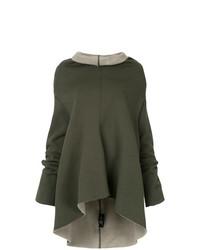 olivgrüner Oversize Pullover von Zambesi
