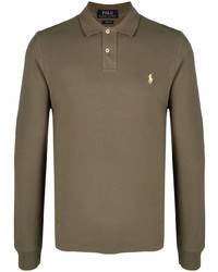 olivgrüner Polo Pullover von Polo Ralph Lauren