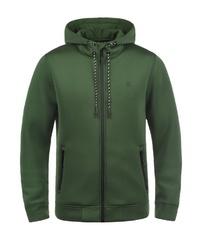 olivgrüner Pullover mit einem Kapuze von BLEND