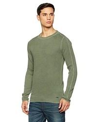 olivgrüner Pullover von Boss Orange