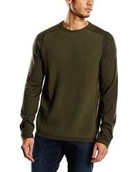olivgrüner Pullover von Eddie Bauer