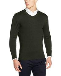 olivgrüner Pullover von Esprit