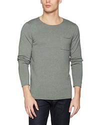 olivgrüner Pullover von Nowadays