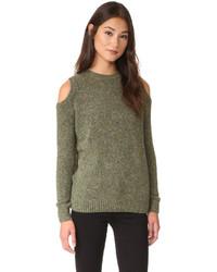 olivgrüner Pullover von Rebecca Minkoff