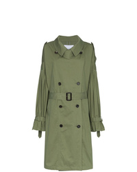 olivgrüner Trenchcoat von PushBUTTON