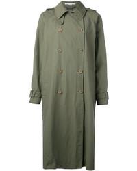 olivgrüner Trenchcoat von Stella McCartney