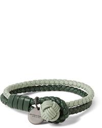 olivgrünes Armband von Bottega Veneta