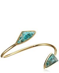 olivgrünes Armband von Lizzie Fortunato