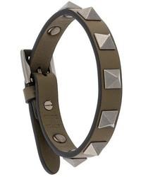 olivgrünes Armband von Valentino Garavani