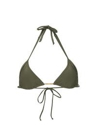 olivgrünes Bikinioberteil von Lygia & Nanny