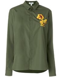 olivgrünes Hemd von Kenzo