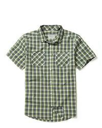 olivgrünes Kurzarmhemd von Craghoppers