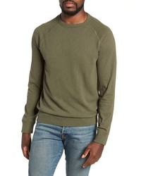 olivgrünes Sweatshirt