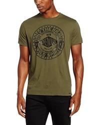 olivgrünes T-shirt von Diesel