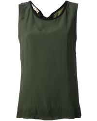 olivgrünes Trägershirt von Marni