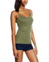 olivgrünes Trägershirt von New Look