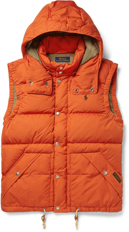the best attitude 6f025 5d3d8 €220, orange ärmellose Jacke von Polo Ralph Lauren
