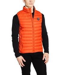 orange ärmellose Jacke von Puffa Country Sports