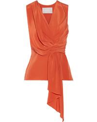 orange ärmelloses Oberteil von Jason Wu