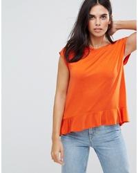 orange ärmelloses Oberteil von Soaked in Luxury