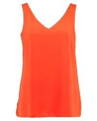 orange ärmelloses Oberteil von Wallis