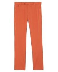 Orange Anzughose