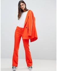 orange Anzughose von Y.a.s