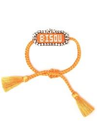 orange Armband von Shourouk