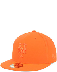 orange Baseballkappe