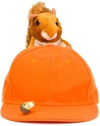 orange Baseballkappe