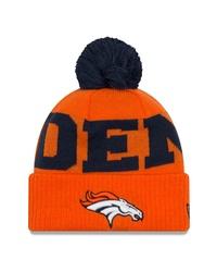 orange bedruckte Mütze