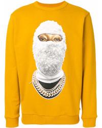 orange bedrucktes Sweatshirt von Ih Nom Uh Nit