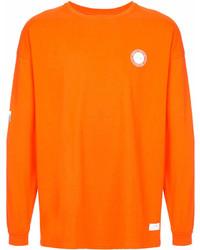 orange bedrucktes Sweatshirt von Stampd