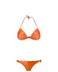 orange Bikinioberteil von Adriana Degreas