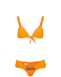 orange Bikinioberteil von Amir Slama