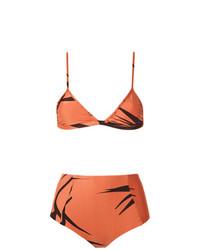 orange Bikinioberteil von Haight