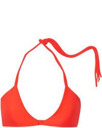 orange Bikinioberteil von Mikoh