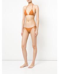 orange Bikinioberteil von Matteau