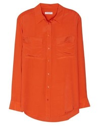 orange Businesshemd