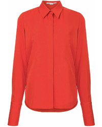 orange Businesshemd von Stella McCartney